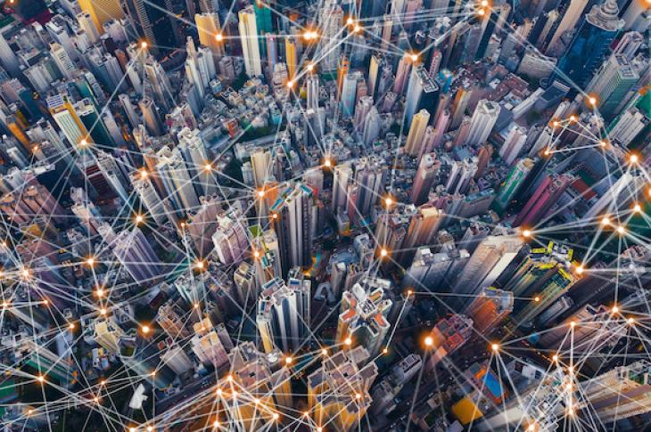 Connected city