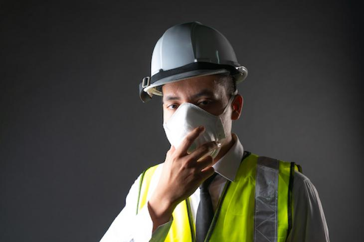 construction worker mask