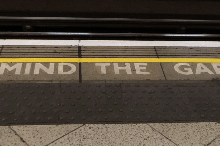 Just like minding the gap on the subway, be mindful and manage gaps between business departments.