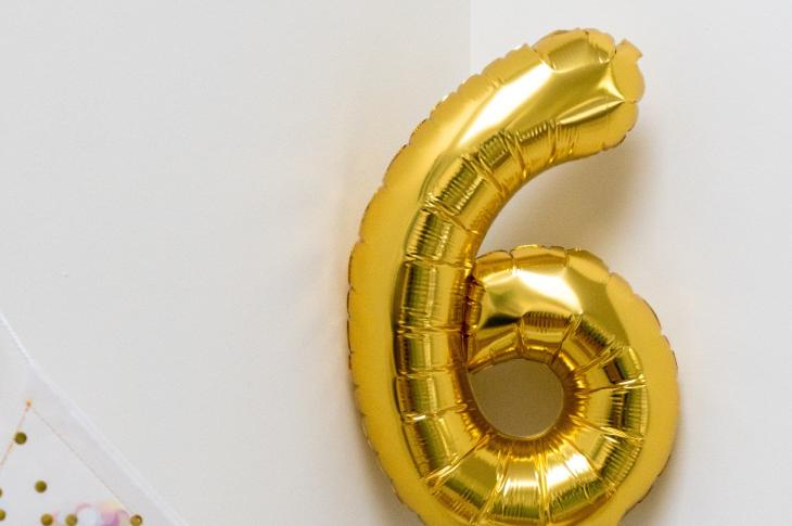 "Big gold '6' balloon | Smart home products can bring down energy costs, offer increased security, help with cooking, cleaning, and more, but to increase a home's value, Redfin experts say to ""tread lightly."""