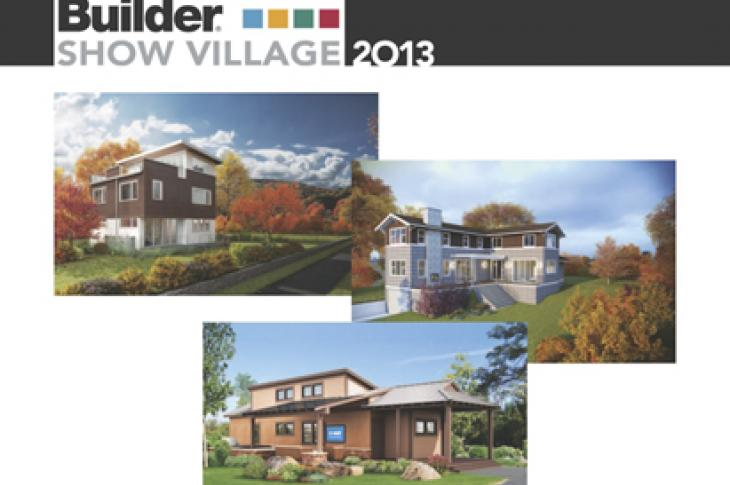 Professional Builder, Show Village, IBS, 2013, International Builders Show