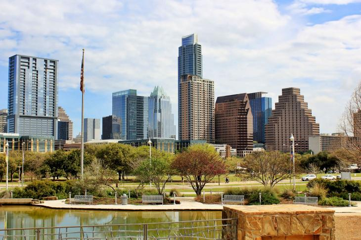 Austin, Texas skyline, Image by Just Traveling via Pixabay