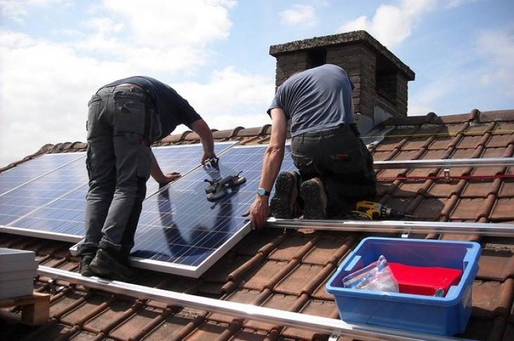 Solar Power Installation