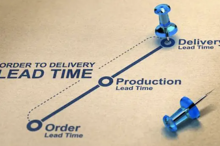 Supply chain line diagram