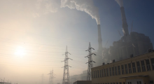 Coal power plants provide electricity and generate pollution