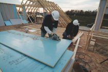 Dow's Styrofoam SIS structural insulated sheathing