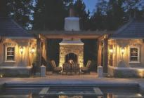 outdoor living, home design, residential design, outdoor kitchen, patio design