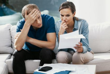 Couple worried over bills