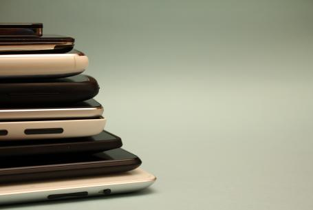 Stack of smart devices