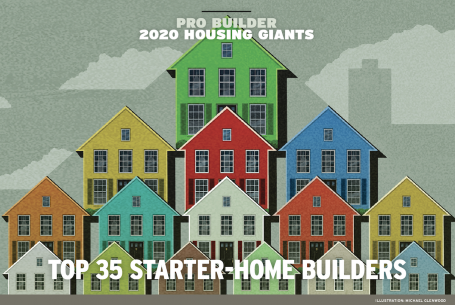 multicolored homes in different sizes from large to small