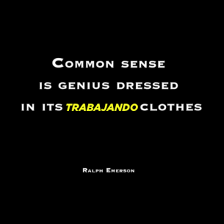 Ralph Emerson quote about common sense