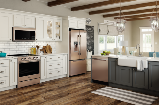 Whirlpool Corp. Smart Kitchen Suite Sunset Bronze