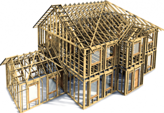 BIM for builders, BIM, building information modeling_example of computer-generated home model