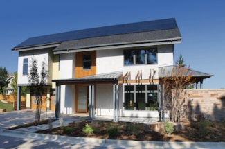 an energy-efficient home with high-performance features