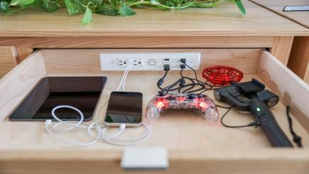Docking Drawer Kitchen Charging Station