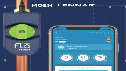 Moen's tools for smart water monitoring in homes