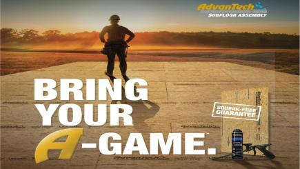 Huber AdvanTech - Bring your A-game ad