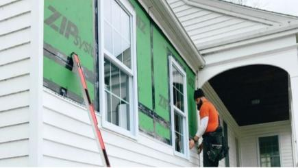 A look at Huber ZIP System® R-sheathing and tape.