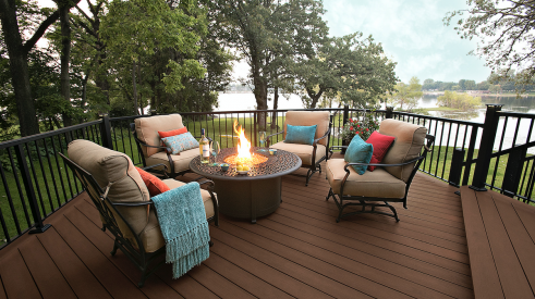 MoistureShield's Elevate composite decking