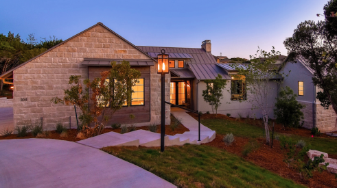 2019 Professional Builder Design Awards Silver Single Family 2001 to 3100 sf exterior approach