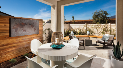 2019 Professional Builder Design Awards Silver Single Family Home outdoor living space