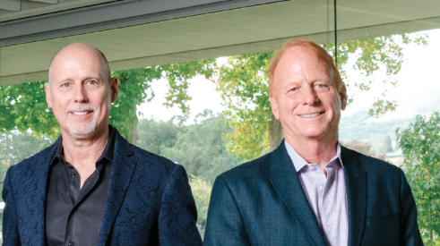 Trumark's Gregg Nelson (left) and Mike Maples met at business school and initially started entitling and selling lots together. (Photo: Jason Henry / dbphotoagency.com)