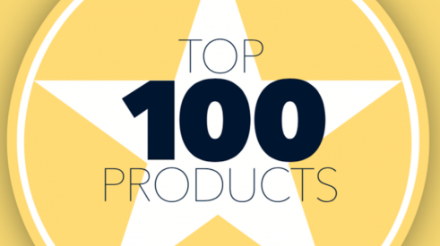 Pro Builder annual listing of Top 100 building products logo.