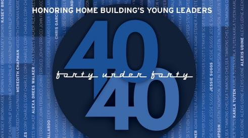 Pro Builder 2021 Forty Under 40