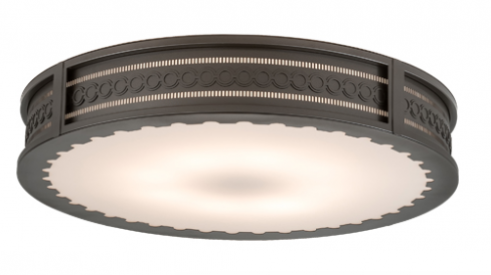 2nd Ave Lighting's Cilindro Circleline flushmount light