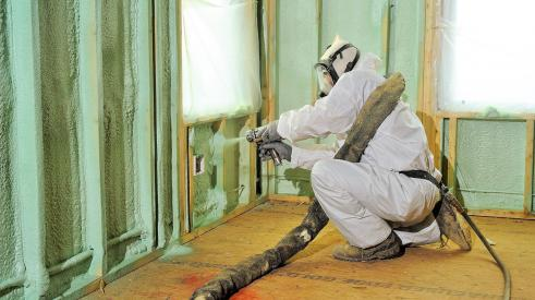 Is spray foam's reputation earned? BASF's Chris Rosemond separates fact from fiction when it comes to the insulating material. | Photo: BASF