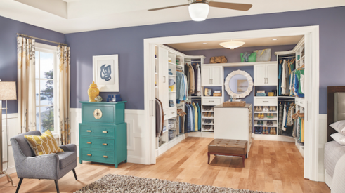 Closetmaid home interior organization