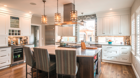 Examples of better home lighting in the kitchen