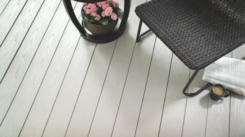 Using Kleer PVC decking to create outdoor living space