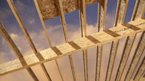 engineered lumber framing in new construction