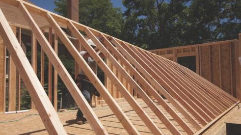 BMC's Ready-Frame pre-cut package saves time and money during house framing