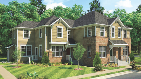 Exterior of the design for RPGA Design Group's Byers Avenue homes