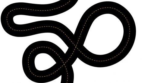 winding road as example of lack of simplicity
