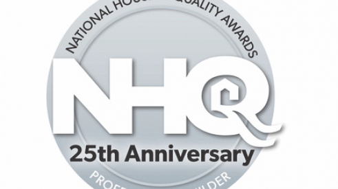 National Housing Quality Award 25th anniversary logo
