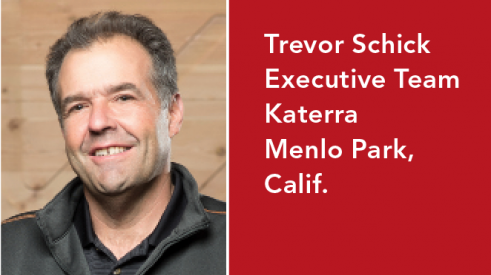 Trevor Schick is on Katerra's executive team