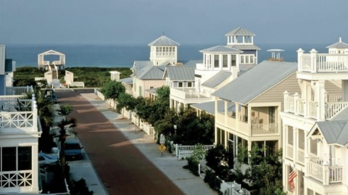 Founded in 1979, Seaside, in Florida, is heralded as the first example of New Urbanism