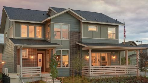 The Z.E.N. Home in Denver is a net zero energy home