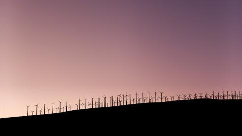 Wind farm, Image: StockSnap via Pixabay