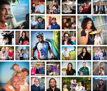 Photo collage of some of the 2015 Professional Builder 40 Under 40