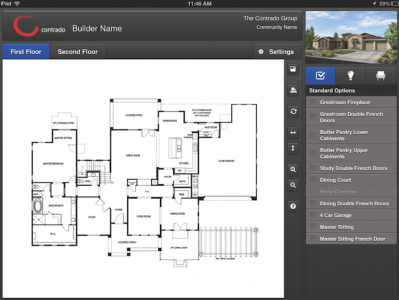 Interactive Floor Plans And Customer Discovery Centers