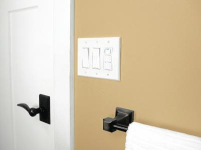 Reduce mold and mildew in the bathroom or anywhere else with this moisture-sensi