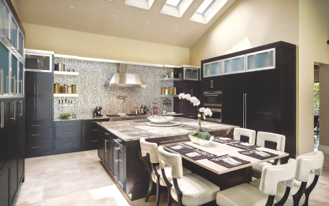 The Oasis kitchen from The Evans Group