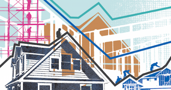 Illustration of housing market's cyclical ups and downs