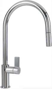 Besides the 16 1/2-inch-tall flagship of the Ambient line (shown) from Franke, the Ambient family offers more than a half dozen models to consider.