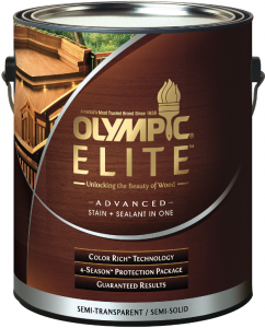 olympic elite advanced stain sealant pro builder