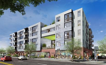 New 115 Unit Multifamily Project Underway In West L A